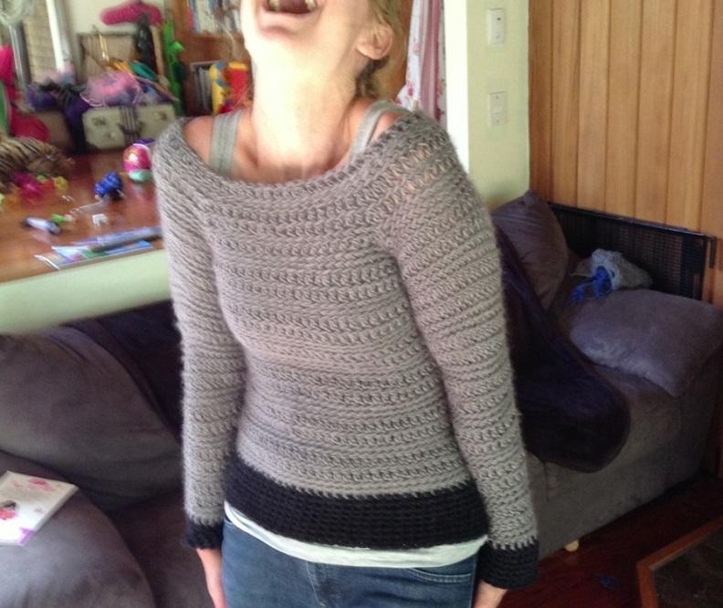 crochet jumper