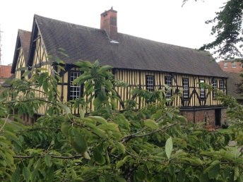 Merchant Adventurers' Hall built in 1357