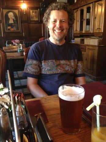 Ben and beer