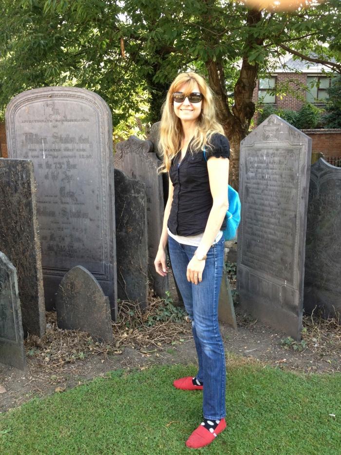 I've always liked cemeteries.