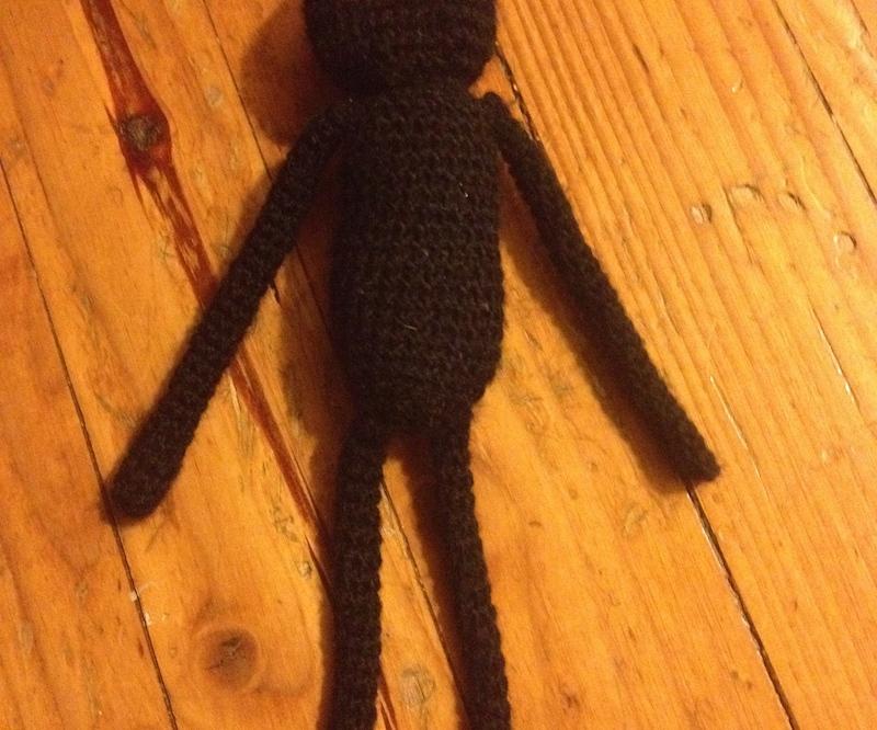 Crochet Enderman