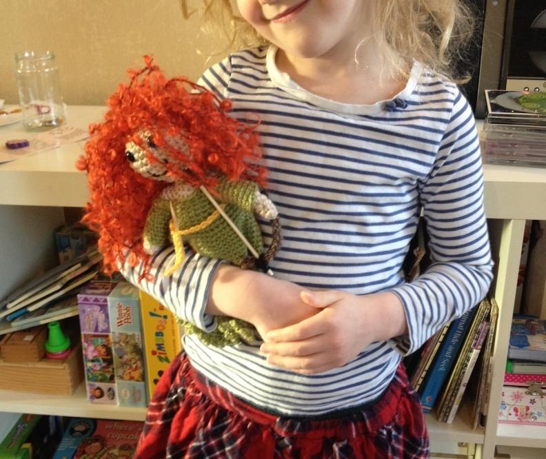 Image of crochet Merida