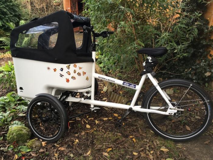 Cargo bikes are thefuture