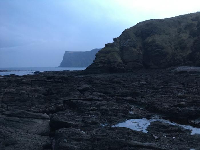 I swam in the North Sea inwinter
