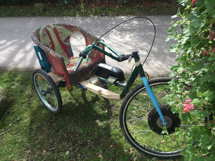 The cane chairbike