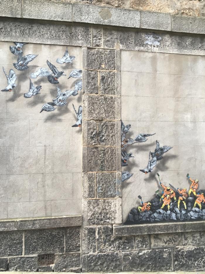 Street art Aberdeen