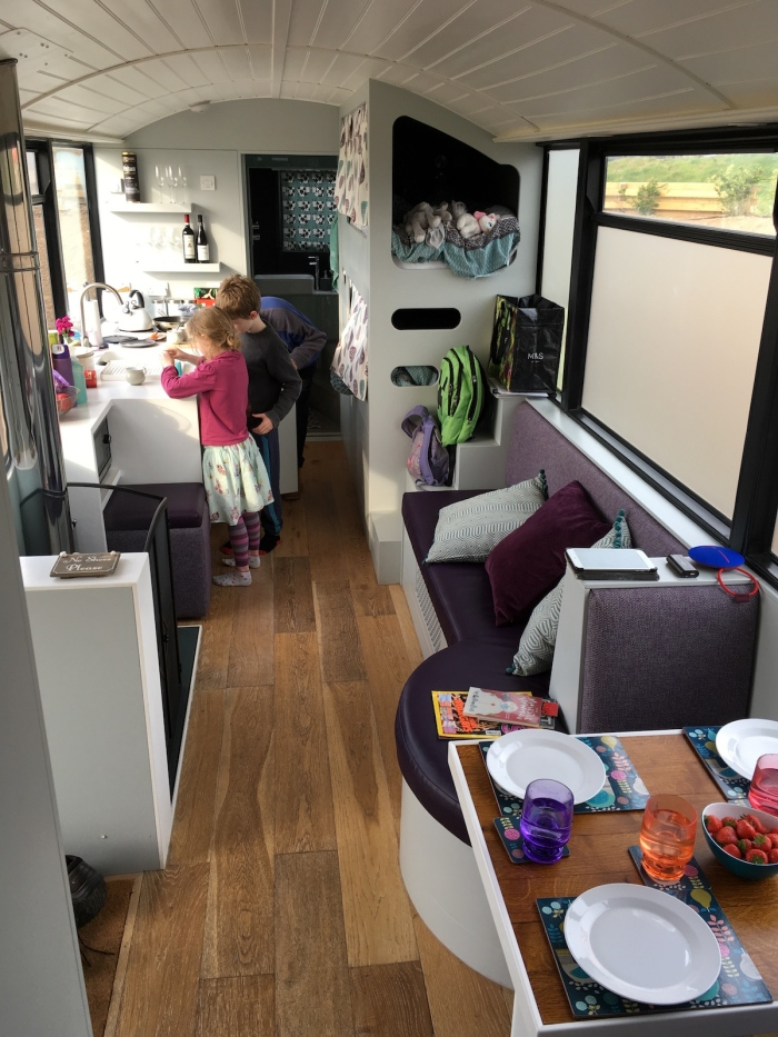 Glamping in a bus