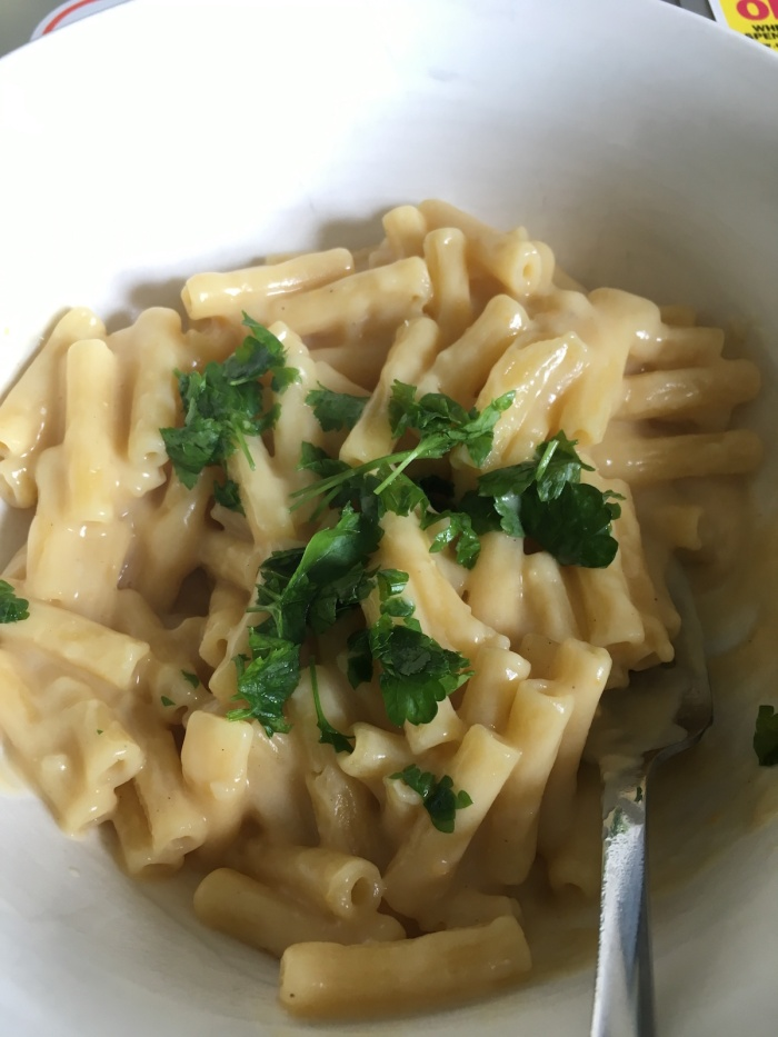Sainsbury's vegan mac and cheese