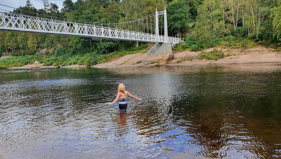 Swimming in the Dee